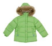 Green jacket Royalty Free Stock Photos