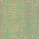 Green jaguar spotted background. Royalty Free Stock Photography