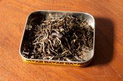 Green jasmine tea leaves Stock Photography