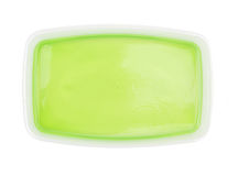 Green jelly Stock Images