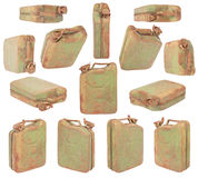 Green jerrycan Royalty Free Stock Photo