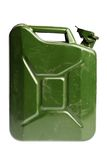 Green jerrycan Royalty Free Stock Photos