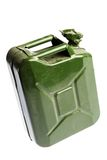 Green Jerrycan Royalty Free Stock Photography