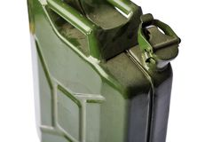 Green Jerrycan Royalty Free Stock Image