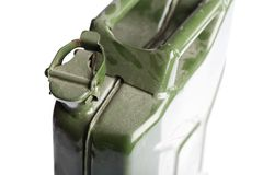 Green Jerrycan Stock Photography