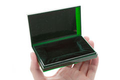 Green Jewel Box Royalty Free Stock Photos