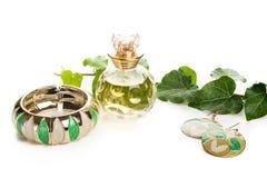 Green jewelry Royalty Free Stock Photo