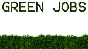 Green Jobs Royalty Free Stock Photo