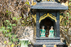 Green joss house Stock Images