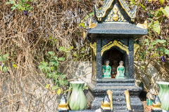 Green joss house Royalty Free Stock Image