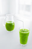 Green Juice. Healthy Eating. Detox Smoothie. Food, Diet Concept. Stock Photos