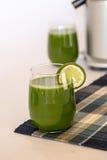 Green Juice Royalty Free Stock Photo