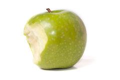 Green juicy apple Royalty Free Stock Photo