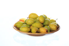 Green Jujube Stock Photography