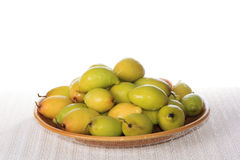 Green Jujube Royalty Free Stock Photography