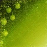 Green julbakgrund royaltyfri illustrationer