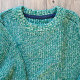 Green jumper Royalty Free Stock Image
