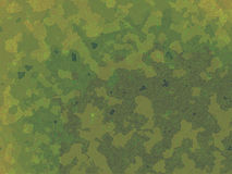 Green Jungle British DPM Style Military Camouflage Stock Photos