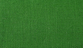 Green jute background Royalty Free Stock Photo