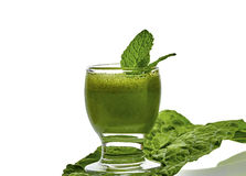 Green Kale Drink Royalty Free Stock Photo