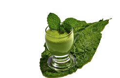 Green Kale Drink Stock Image