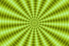 Green kaleidoscope vector illustration
