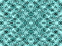 Green kaleidoscope Stock Images