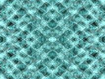 Green kaleidoscope stock images