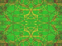 Green kaleidoscope background Royalty Free Stock Photography