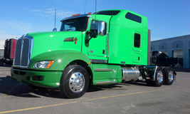 Green Kenworth T660 2015 Royalty Free Stock Images