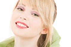 Green kerchief Stock Photography