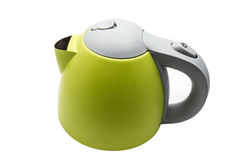 Green Kettle Stock Photos