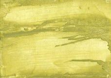 Green khaki vague watercolor illustration Royalty Free Stock Photos