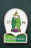 Green King Symbol Royalty Free Stock Image