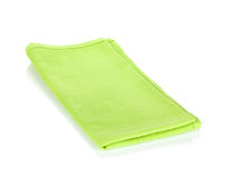 Green kitchen towel Royalty Free Stock Photo