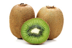Green kiwi Royalty Free Stock Photography