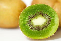 Green kiwi Stock Photos