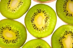 Green kiwi Stock Photography