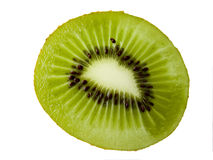 A green kiwi fruit Royalty Free Stock Image