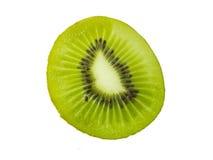 A green kiwi fruit stock photo