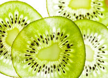 Green kiwi fruit Royalty Free Stock Image