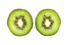 Green kiwi stock photo