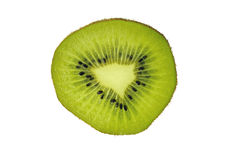 Green Kiwi fruit Stock Image