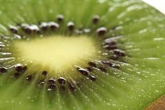 Green kiwi isolated on white Stock Photography