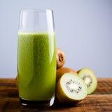 Green kiwi juice Royalty Free Stock Image