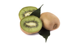 Green kiwi Royalty Free Stock Photos