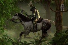 Green Knight stock illustration