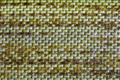 The Green Knit Fabric Texture Pattern. Royalty Free Stock Photography
