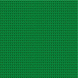 Green knitted background Stock Photography