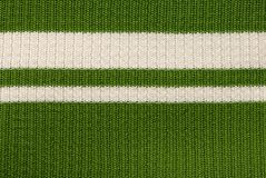 Green knitted fabric Stock Photo